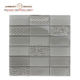 Foshan supplier square crystal glass wall mosaic tile