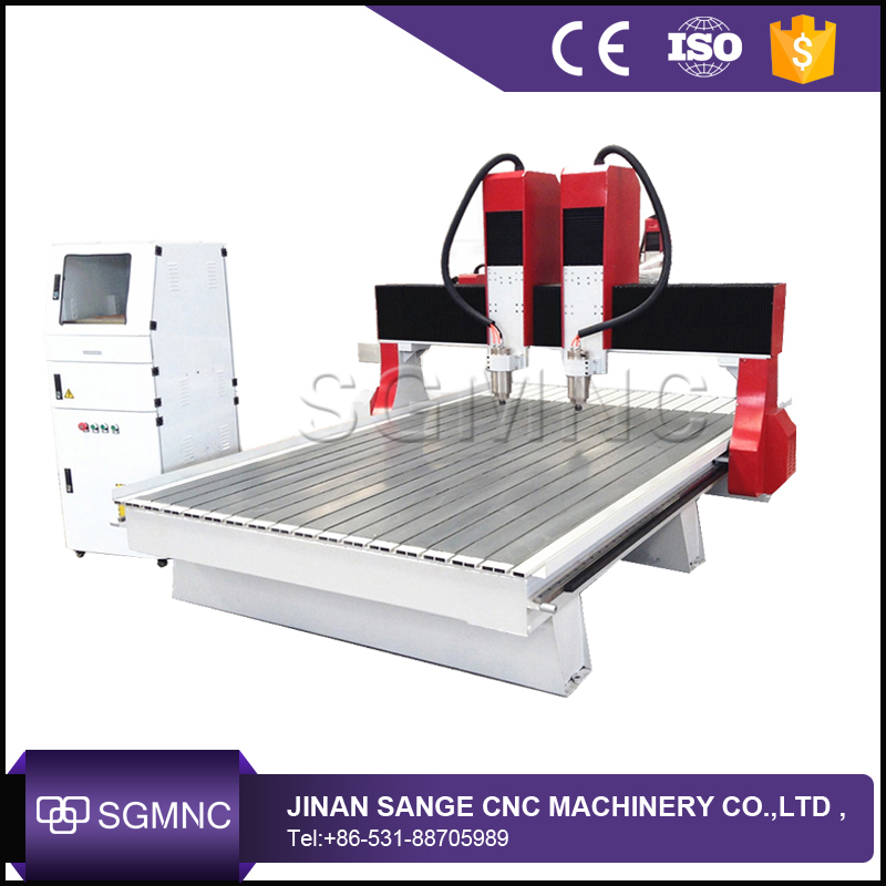 SG 1825 2025 two seperate heads coffin carving making machine , coffin relievos cnc router for wood MDF