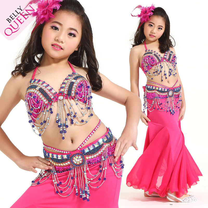 5813ddebe 2016 Fashion Sexy Noble Children Teen Girls Belly Dance Costumes ...