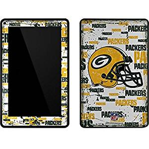 NFL Green Bay Packers Kindle Fire Skin - Green Bay Packers - Blast Vinyl Decal Skin For Your Kindle Fire