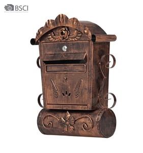 Vintage Wall Mounted Mailbox Post Box