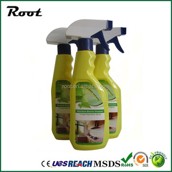 Spray Type Oil Stain Removing Detergent