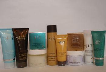 Minus 417 Professional Dead Sea Skin Care Products