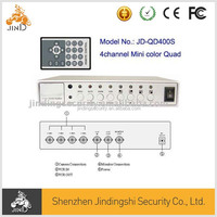 (JD-QD400S) 4 Channel Mini PIP Color Real Time Quad Processor