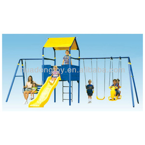 Promotion Slide Combined Swing Set Plastic Play