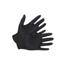 Price-wise Black Disposable Powder Free Latex Free Medical Flip-top Nitrile Gloves