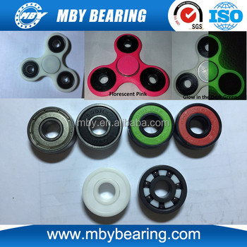 ceramic bearing 608. zro2 si3n4 full or hybrid ceramic bearing 608 for tri spinner fidget