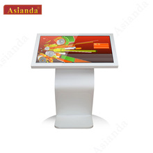 55 inch table information kiosk, multi touch monitor all in one computer