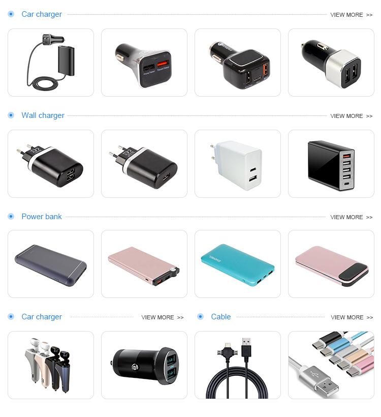 फैक्टरी थोक Portable2 पोर्ट फोन कार चार्जर, तेजी से बैटरी यूएसबी दोहरी मोबाइल फोन कार चार्जर