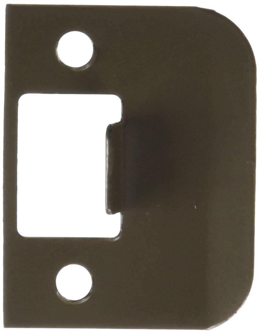 Pack of 10 Don-Jo EL 115 18 Gauge Extended Lip Strike Polished Brass Finish 1-1//2 Width x 2-1//4 Height