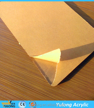 Paper Packed 2mm Thick Clear Acrylic Plastic Sheet