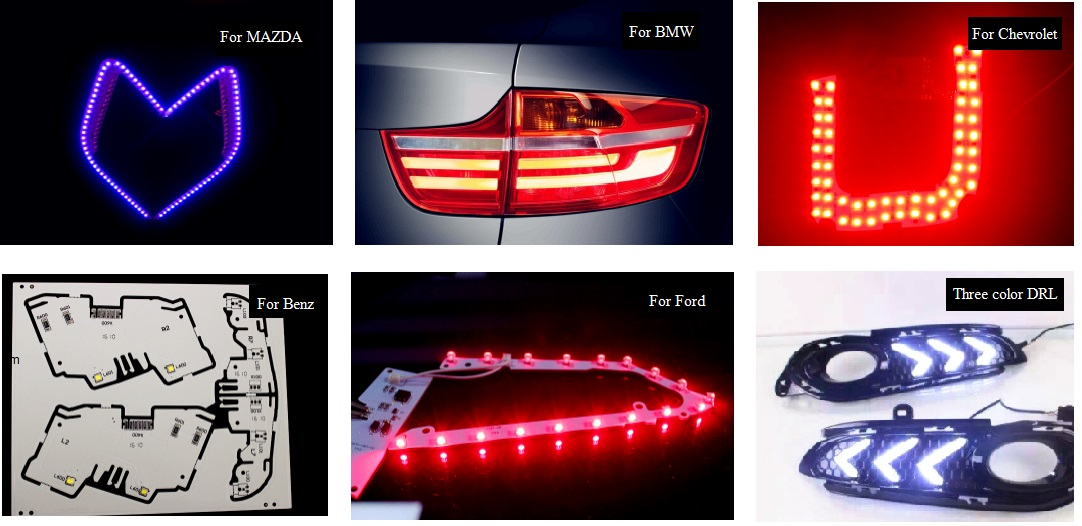 For BMW 5 Series E34 Red LED /'Trade/' Wide Angle Side Light Beam Bulbs Pair
