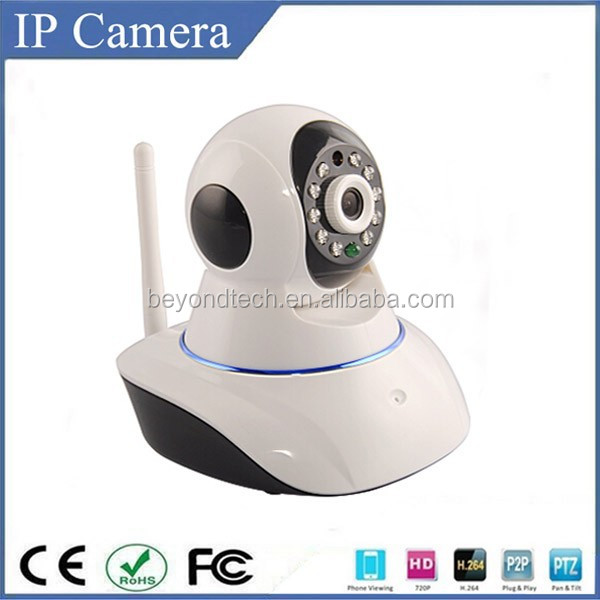 Wireless camera with monitor receiver