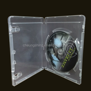 2018 hot sale 14mm clear single blu ray dvd box/case