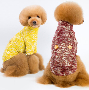 Wholesale warm soft dog sweater knitted---5 Years Pet Clothes Manufacturer