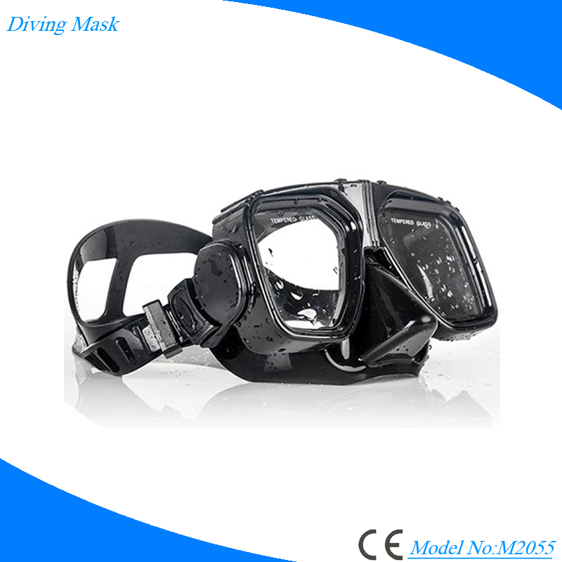 Free diving mask custom design diving glasses for watersports diving