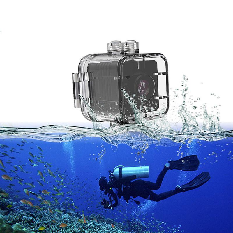 3b1cf4fe89e5ea Waterdichte Mini DV Sport Camera SQ12 Grappig Camera Springen Skiën  Vliegende Extreme Action Camera HD Video