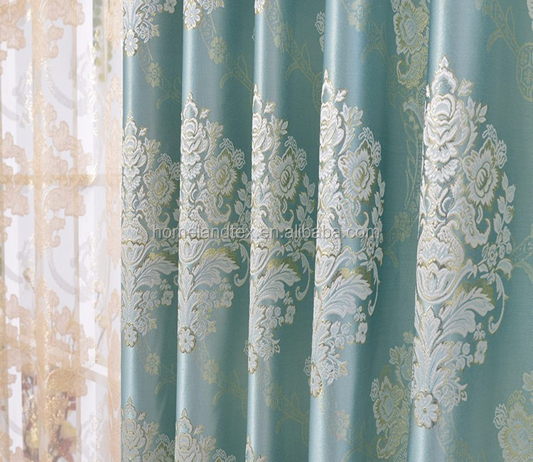 2016 New Fashion Design Jacquard Curtain Fabric In Lahore Pakistan