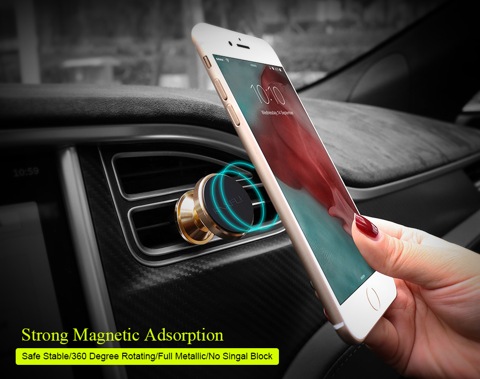 2017 Universal customized car holder mobile phone stand;windshield mount stand;Hot sale 360 degree rotation car holder magnetic
