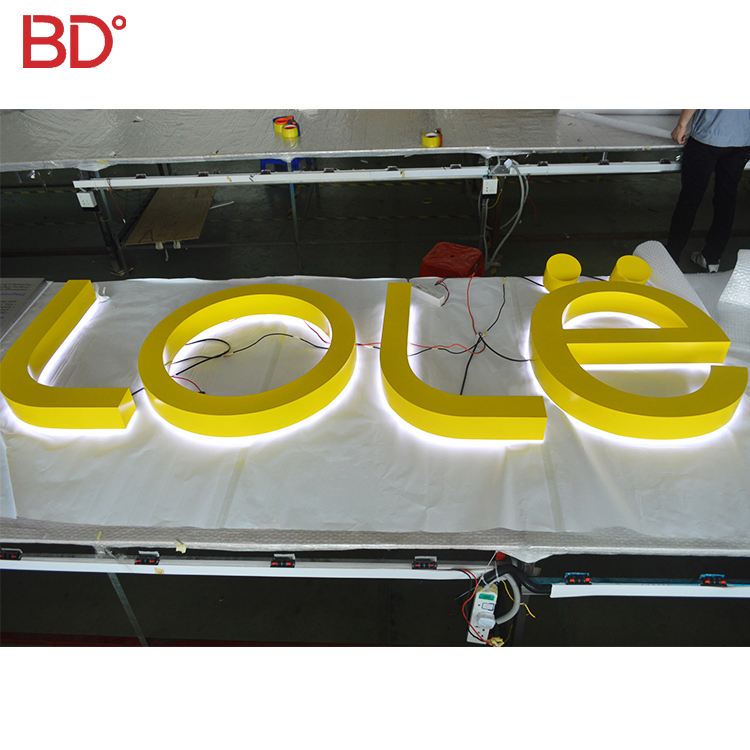 Custom Illuminated Mirror Stainless Steel Letters Sign Illuminated Sign Letters Spare No Cost At Any Cost Back To Search Resultselectronic Components & Supplies