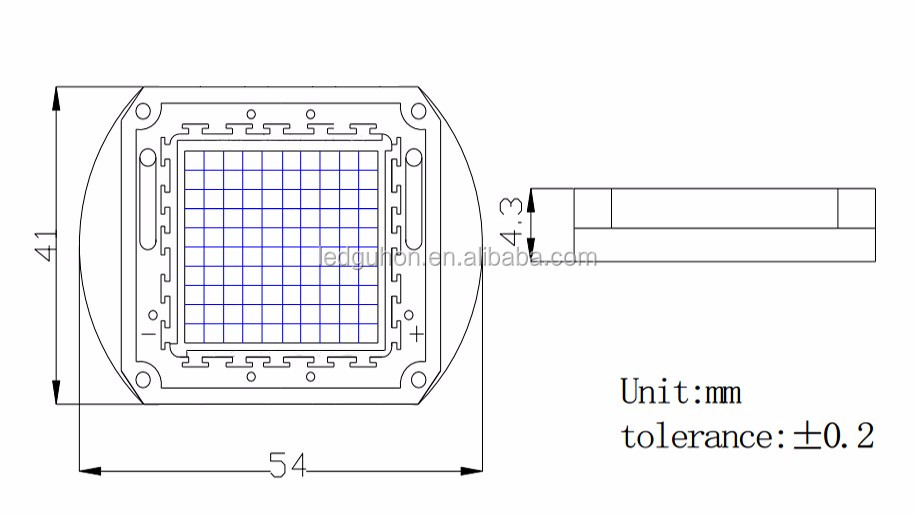 sell 20v 700mA high power 20W IR 850nm led module