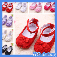 Foreign trade baby shoes, Rose baby toddler shoes , princess shoes