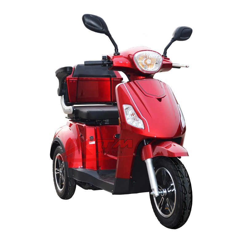 Pedal three wheel mobility scooter adult electric tricycle for 3 wheel scooters for adults motorized