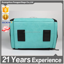 Pet carrier outside bag with mesh foldable cat box cat carrier cat carry bag