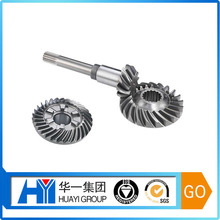 OEM spiral bevel gear with bevel pinion shaft