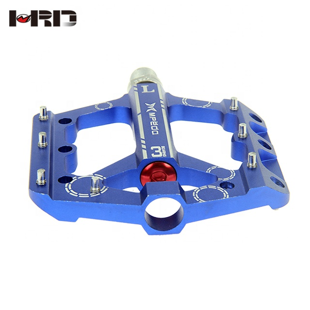 ALNC-2023 3 bearings aluminium quick release bicycle pedal size 100*105*30mm cnc фото
