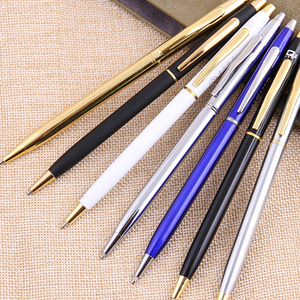 Twist Style Silm Metal Ball Pen for Company
