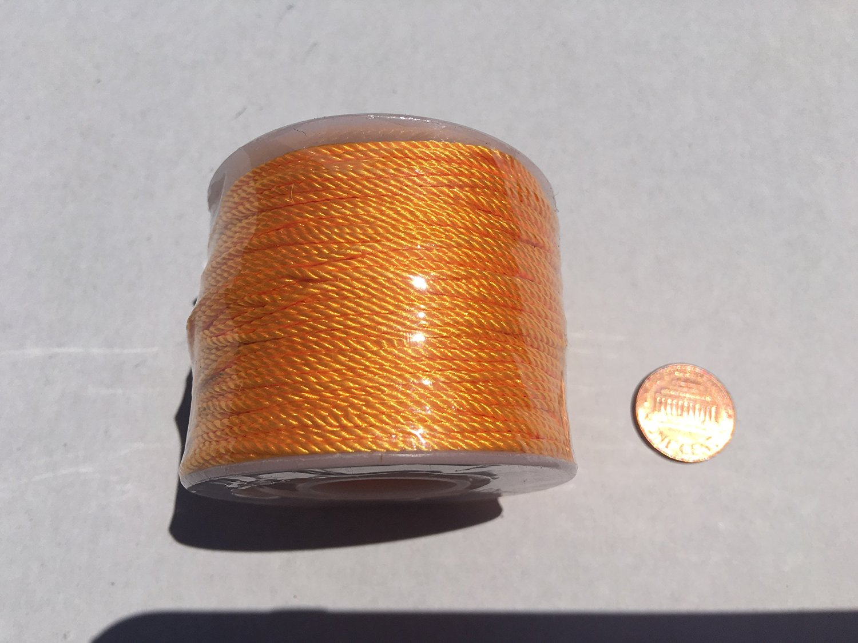 Yellow / Gold Twisted Twine Mason Line 76 yd