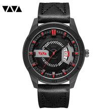 Мужские часы Relogio Masculino, роскошные брендовые модные спортивные наручные часы, мужские кожаные кварцевые часы, Прямая поставка, reloj hombre, 2020(Китай)