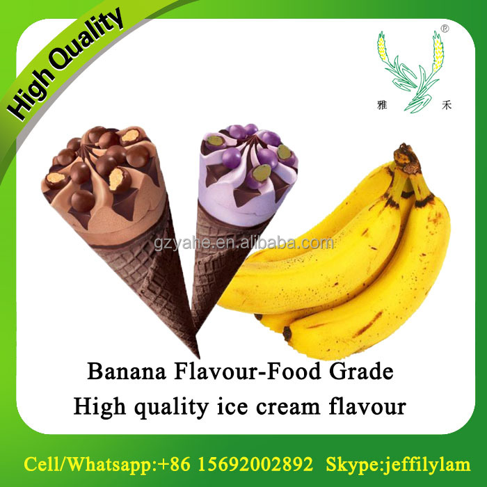 2017 best selling banana powder flavour used for ice cream/ice lolly/desert making