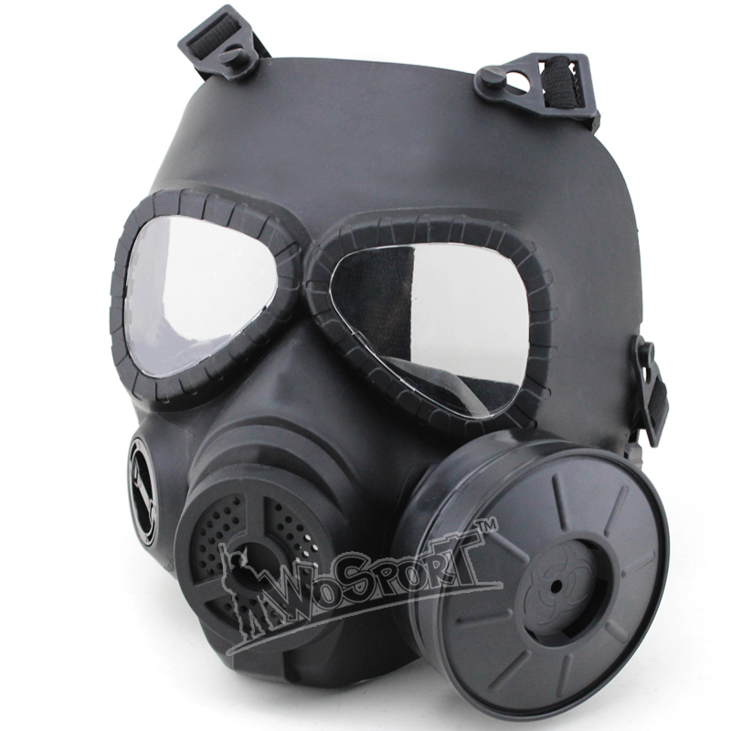 Trustful M50 Mask Army Airsoft Tactical Wargame Paintball Full Face Skull Gas Mask With Fan With Goggles Protective 22.5*17.5cm Wholesale Camping & Hiking Back To Search Resultssports & Entertainment