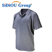 Promotional 100% Breathable Polyester Mens Polo Shirt