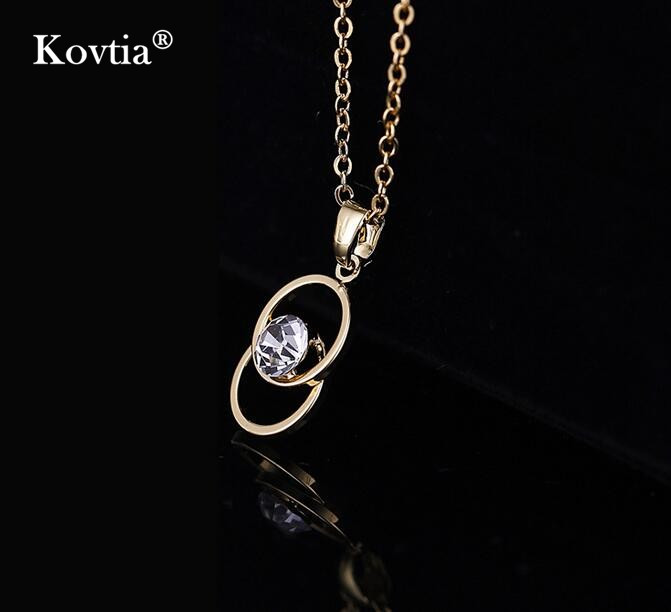 China High Quality Jewelry Accessories Gold Necklace Designs Korean Made in Jinhua Yiwu