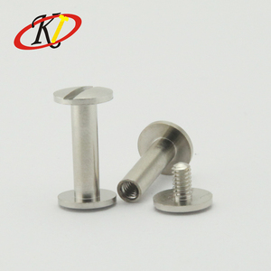 Chinese manufacturer Oukailuo Stainless steel Customized size table leg screws for decorative