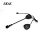 Noise cancelling motorcycle bluetooth fm radio headset remote control multi intercoms