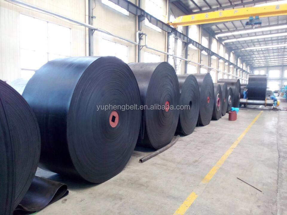 Cement Power plant Steel Factory Used Heat Resistant Conveyor Belt