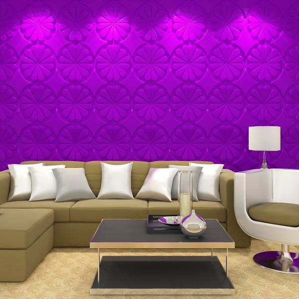 Effetto rivestimenti murali interni con bellezza progettazione 3d ...