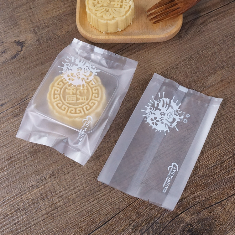Wholesale Custom Printing Plastic OPP Packaging Bags For Moon Cake Packing