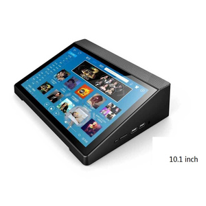 "Battery Powered MINI PC with LCD Touch Screen Z8350 Mini PC Tablet 10.1"" Windows+Android"