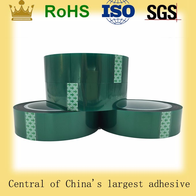 high temperature sand blasting tape polyester masking tape