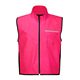 Pink led dongguan traffic flashing ansi standards class 2 light safety vest reflector jackets with zipper and pockets