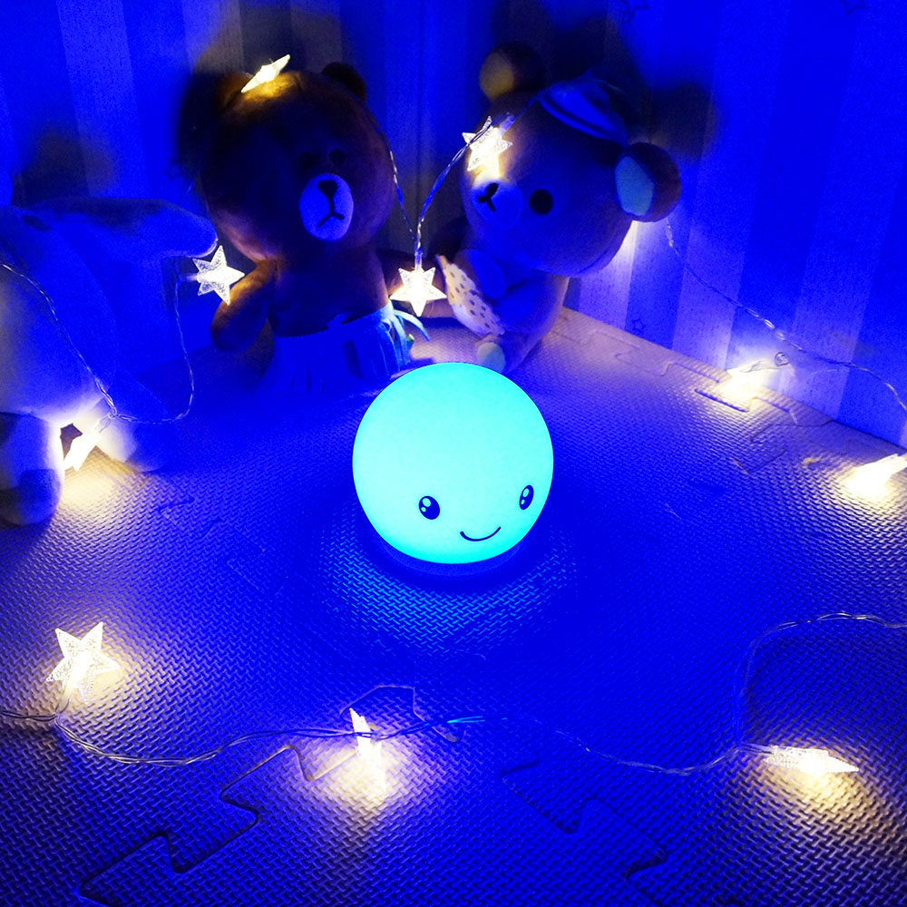 Custom Wholesale Amazon Anti-heat Led Silicone Night Light For Kid