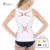 S-SHAPER Slim Seamless Stretch Dri Fit Breathable Athletic Women Compression Tank Tops