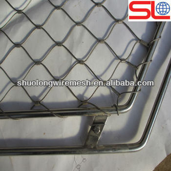 Stainless Steel Wire Rope Mesh,Rock Fall Protection Mesh,Stair ...
