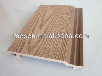 Pareti Di Legno Per Esterni : Wpc pannello di rivestimento parete struttura di legno wpc
