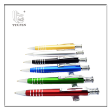 Good quality flower pattern metal ballpoint pen nice looking promotional ball pen